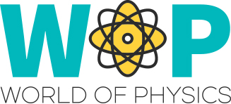 Logo del progetto world of phisics
